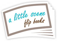 A Little Scene Flip Books